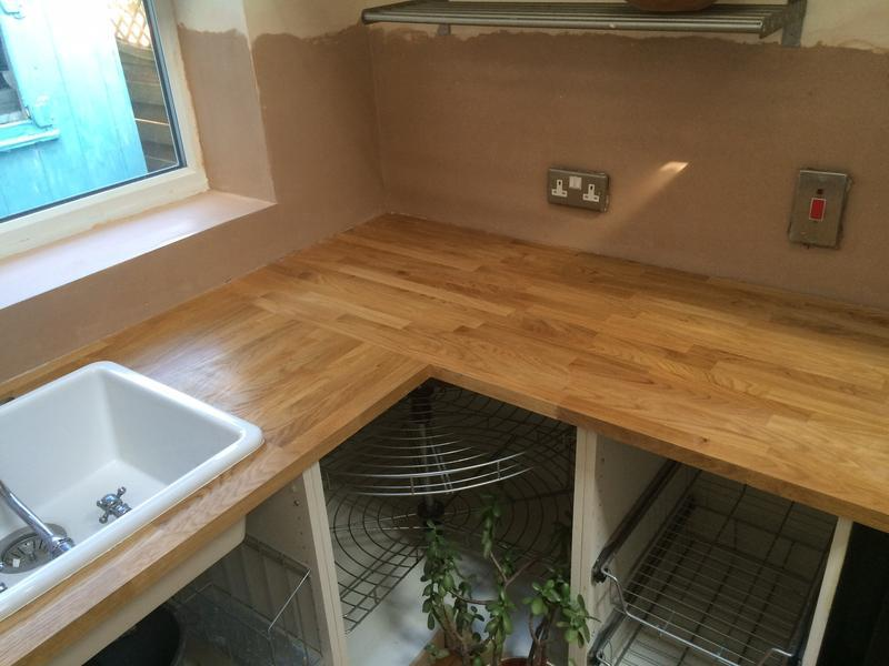 Image 7 - new install of solid oak worktops - pic 1