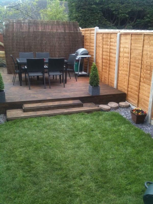 Image 23 - Dereham garden modification completed.