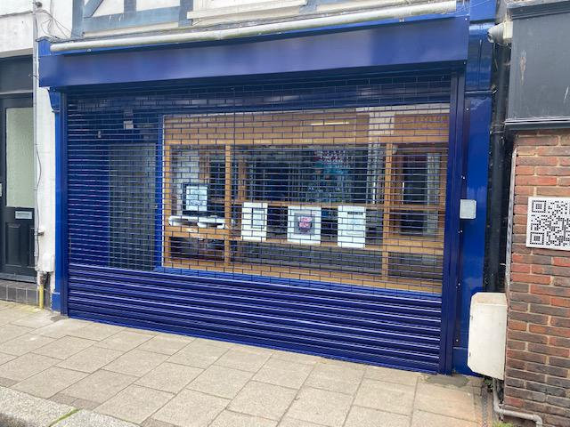 Image 12 - Tube & Link Electric Roller Shutter       Installed in Hythe  Powder Coated Finish