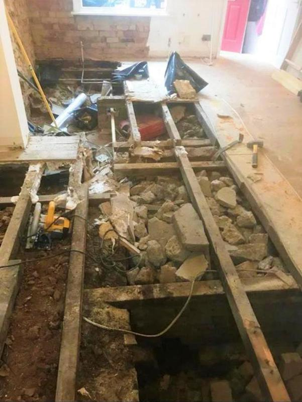 Image 18 - Dry Rot Treatment: Dry Rot affected Timbers and sub-floor rubble removal