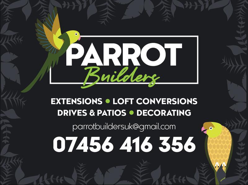 Parrot Builders logo