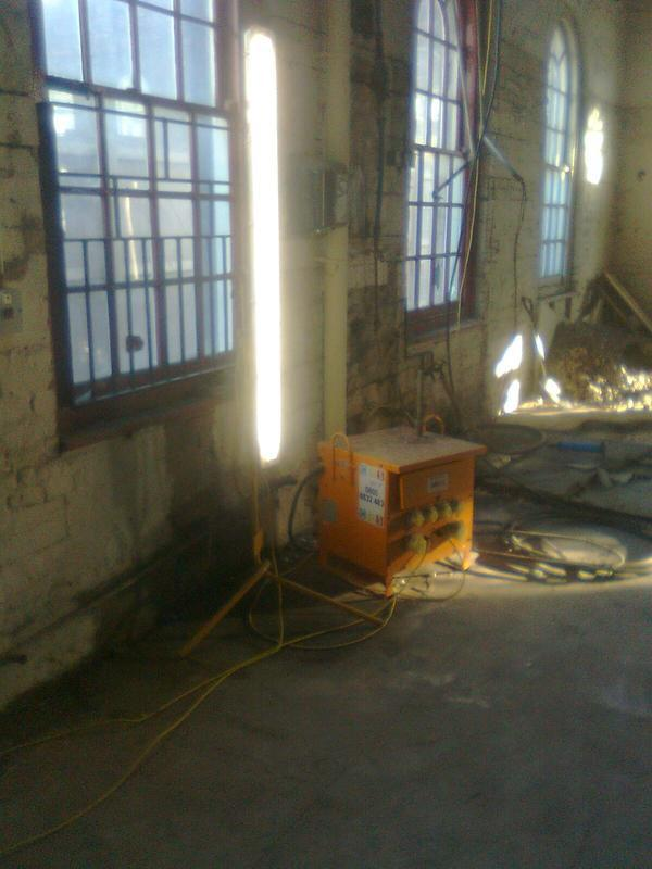 Image 8 - chatham dockyard temporary site electrics