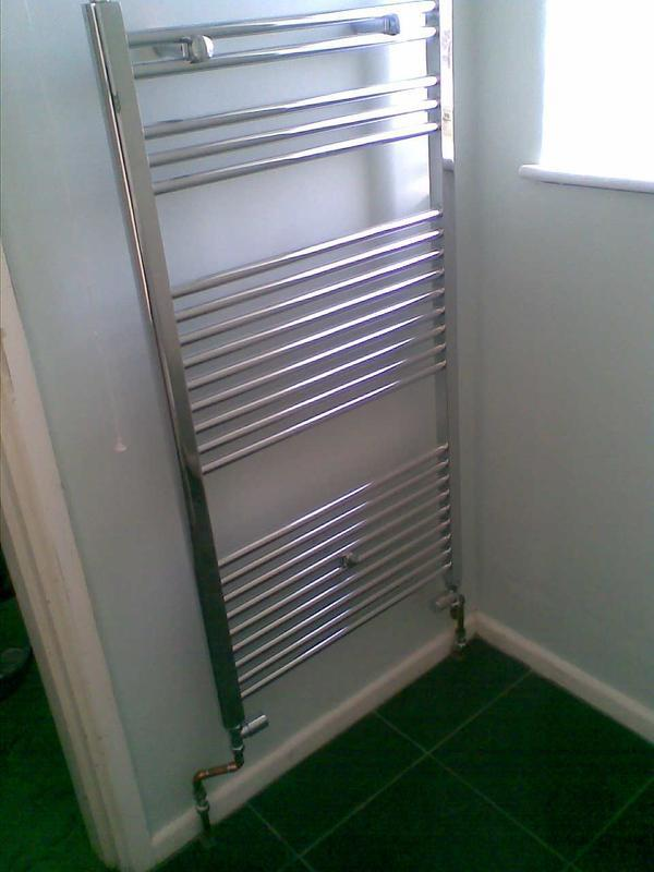 Image 4 - towel radiator installed
