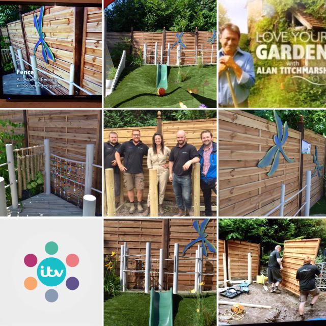 Image 5 - WE PROUDLY PROVIDED FENCING FOR ITV'S LOVE YOUR GARDEN WITH ALAN TITCHMARSH