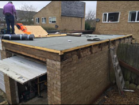 Image 48 - Preparation of flat roof
