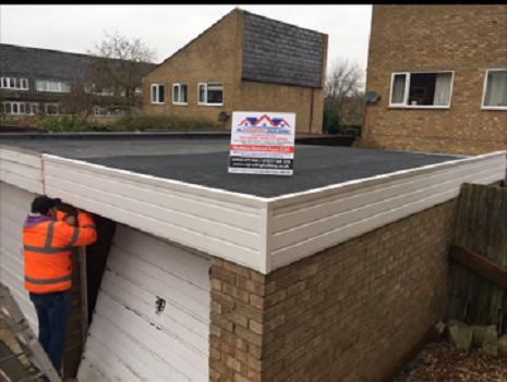 Image 29 - Felt flat roof
