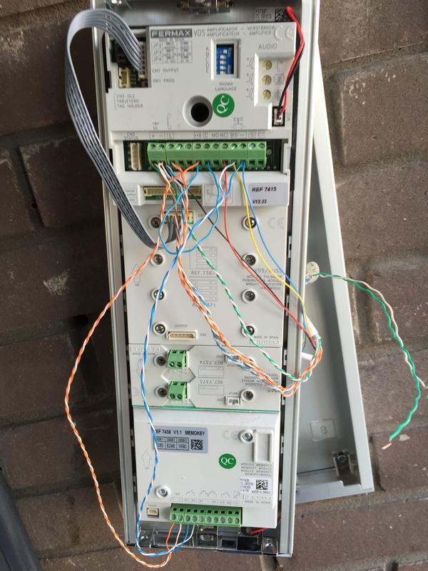 Image 5 - New door entry panel install