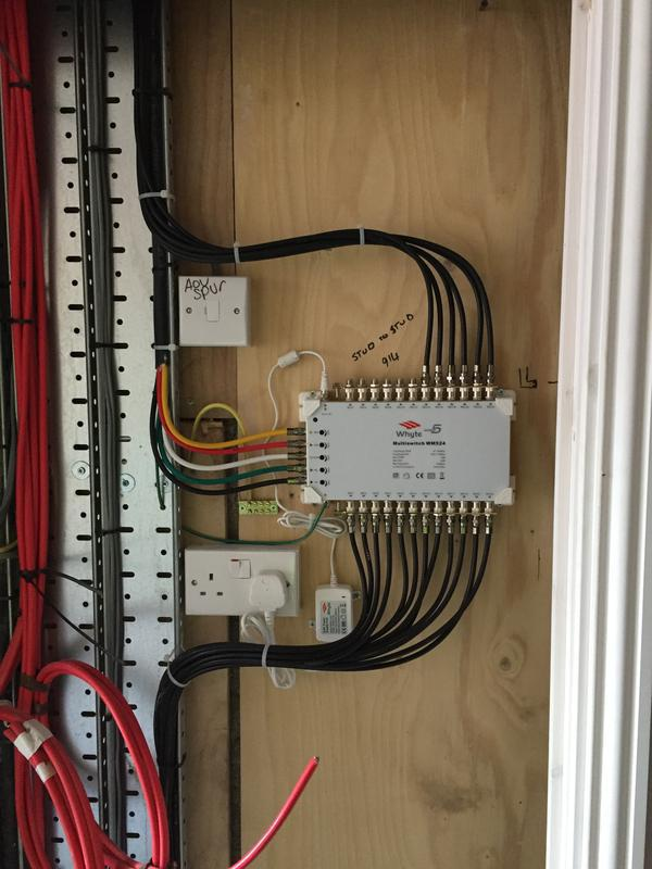 Image 14 - install of new tv sat switch