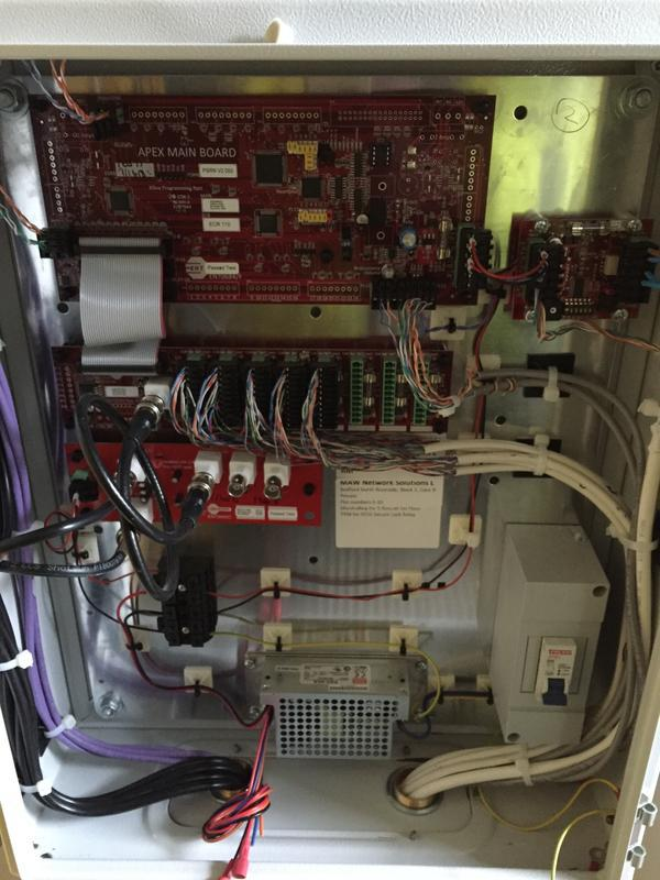 Image 12 - wiring of new door entry main panel