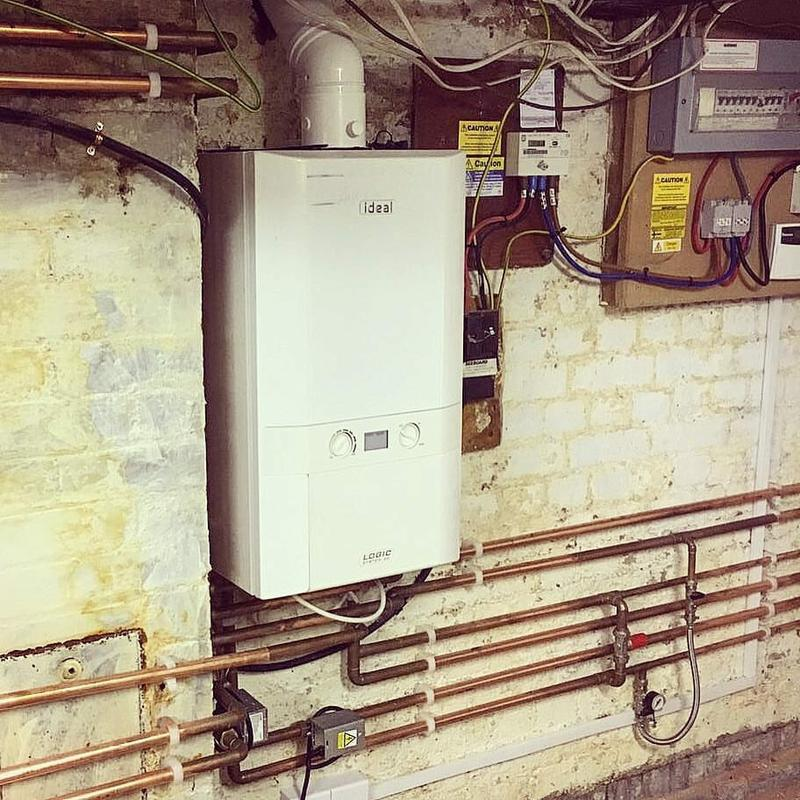 Image 3 - Re-located Boiler for New Kitchen in Esher, Surrey #gasengineer #boiler #heating #plumber