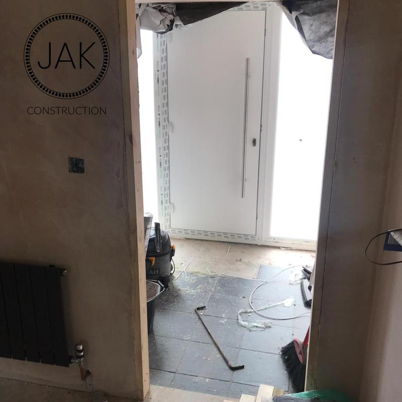 Image 22 - inside during garage refurb