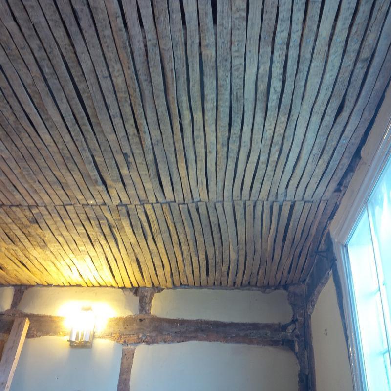 Image 22 - Fixing lathe slats