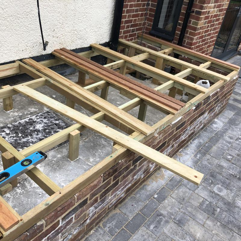 Image 16 - Framing out joist