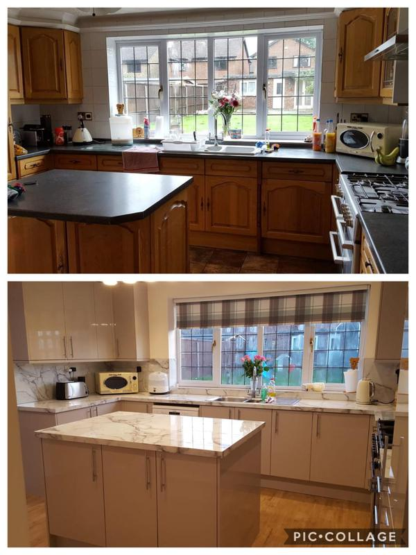 Image 5 - Kitchen Refurb - before & after