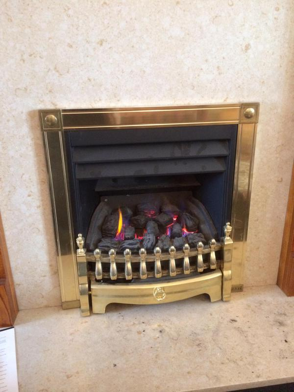 Image 63 - Gas fire working correctly now.