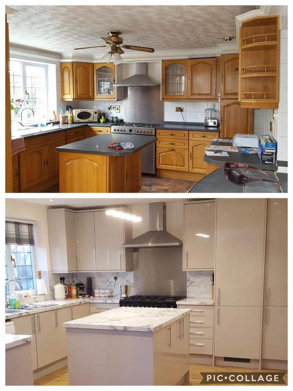 Image 4 - Kitchen Refurb - before & after