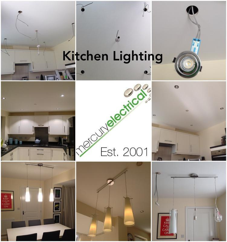 Image 12 - Kitchen recessed lighting.
