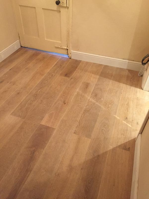 Image 91 - Engineered wood floor in hallway and dining room changing direction between haal and dining room