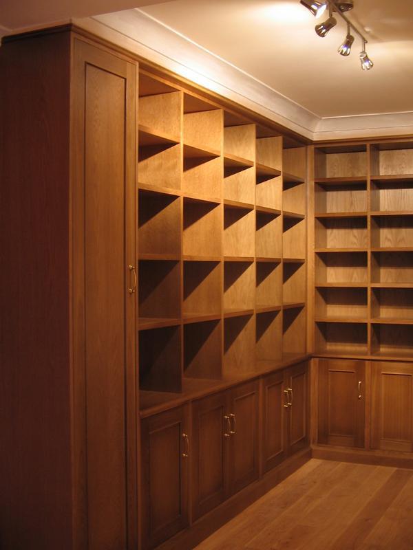 Image 51 - Bespoke library.