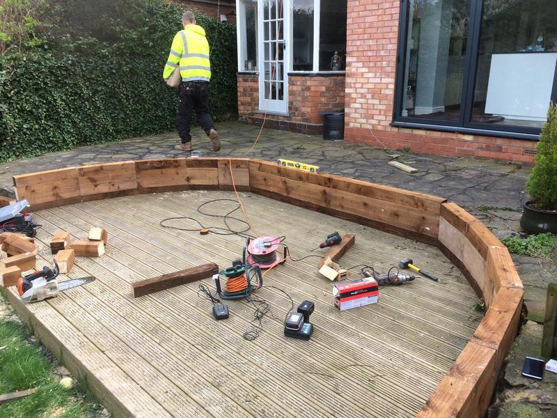 Image 25 - new decking about to be built