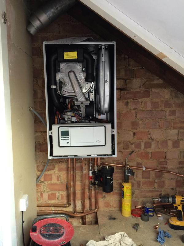 Image 60 - We've just completed fitting this Vaillant boiler in a loft in Brentwood.
