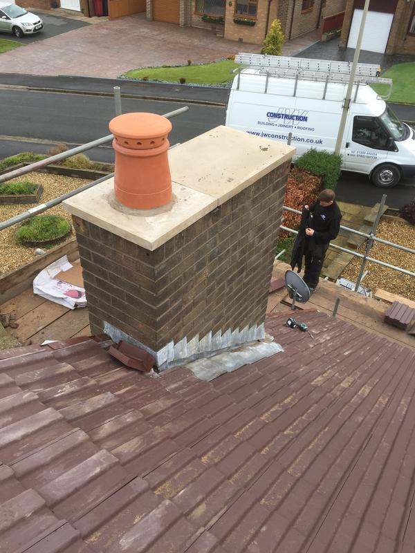 Image 11 - Chimney pointing & Capping Langho