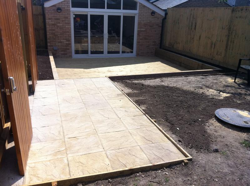 Image 20 - New paving and decking