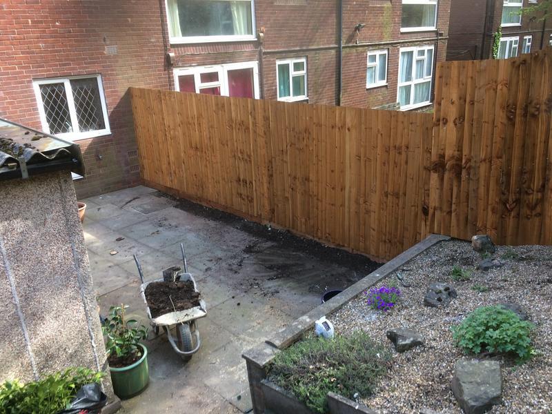 Image 24 - new fence finished