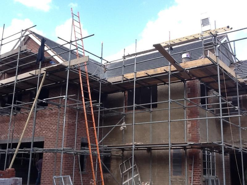Image 30 - The roof is finished complete with soffits and fascias Jul 2012