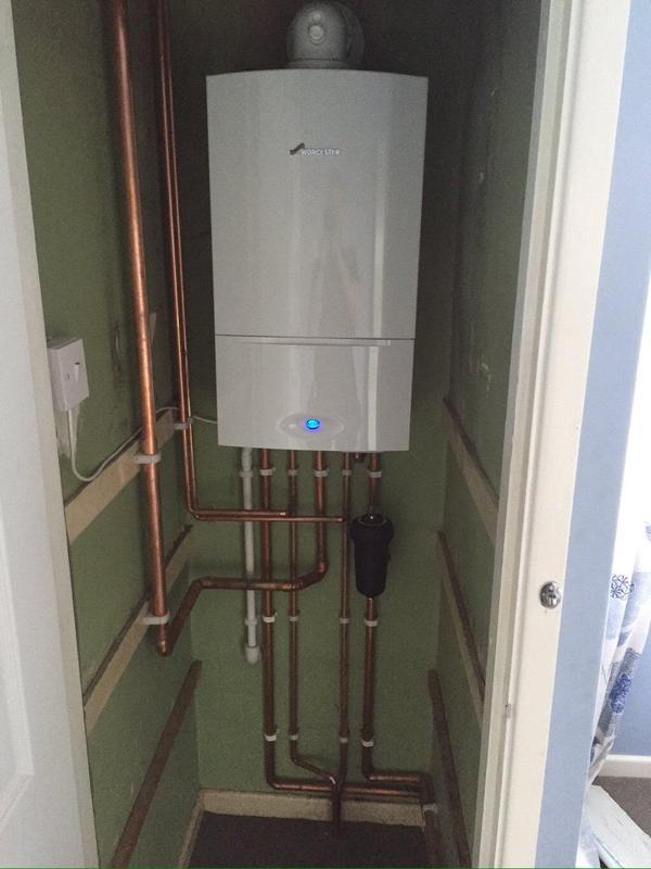 Image 19 - Worcester boiler installation
