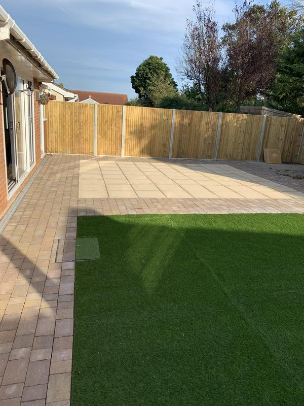 Image 18 - New Fencing-Patio-Block Paving & Artificial Grass.