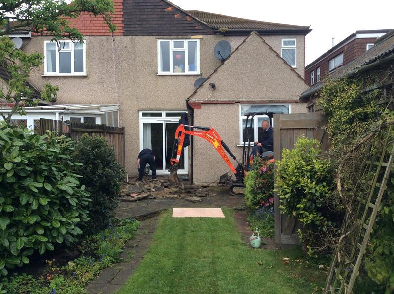 Image 1 - This is the before picture of rear extension in Sidcup