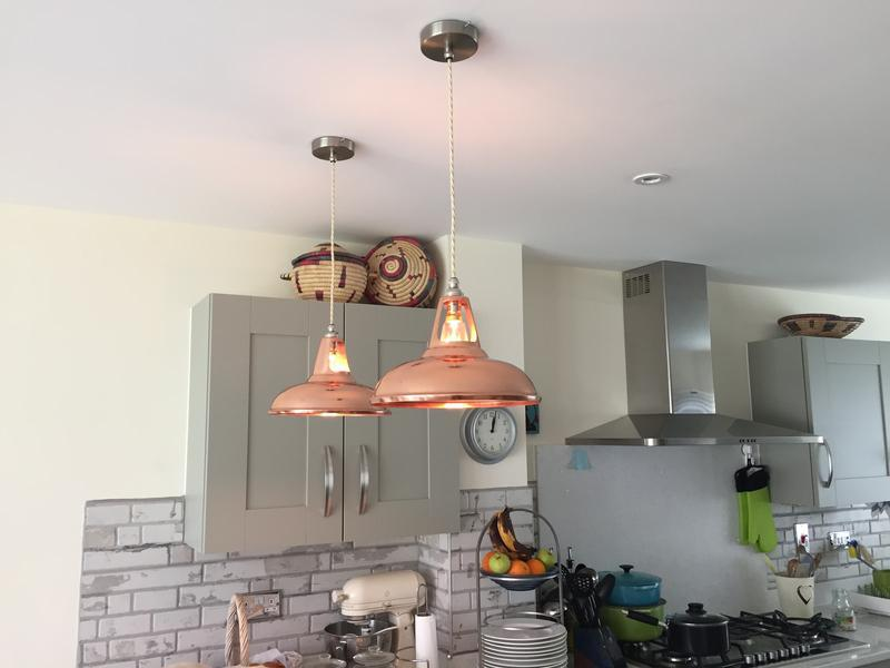 Image 5 - Decorative pendant lights in a kitchen