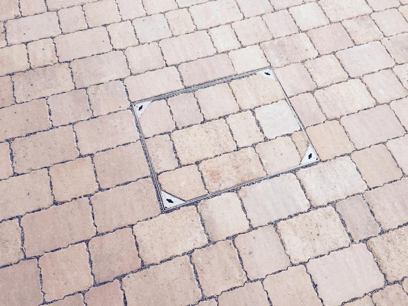 Image 30 - Block paving manhole