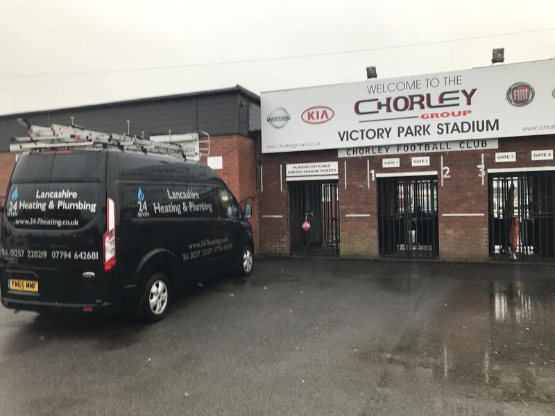 Image 16 - Proud sponsors of Chorley FC