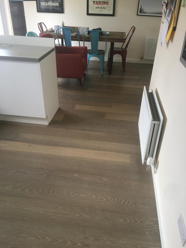 Image 3 - Kahrs Engineered Flooring, 86m2 in one piece