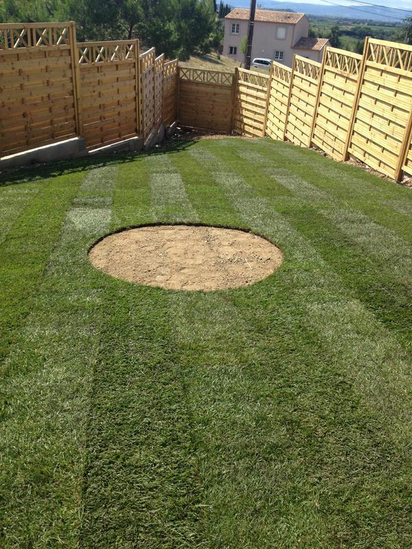 Image 14 - freshly laid lawn
