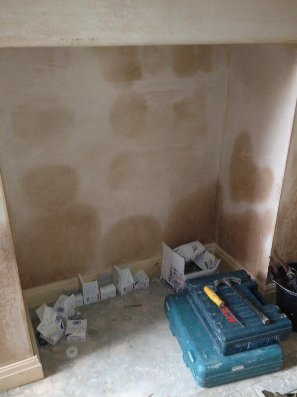 Image 13 - Failed damp proofing undertaken by unquilifed contractor