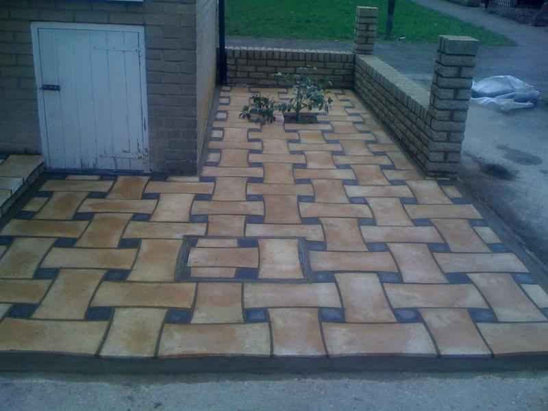 Image 11 - basket weave paving in harlow