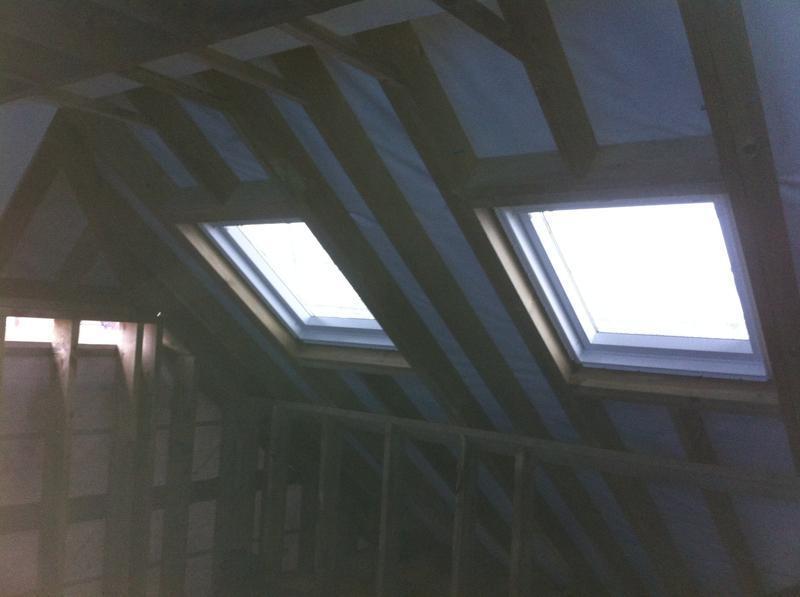 Image 29 - Loft before plastering