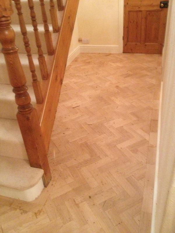 Image 121 - Herringbone wood floor