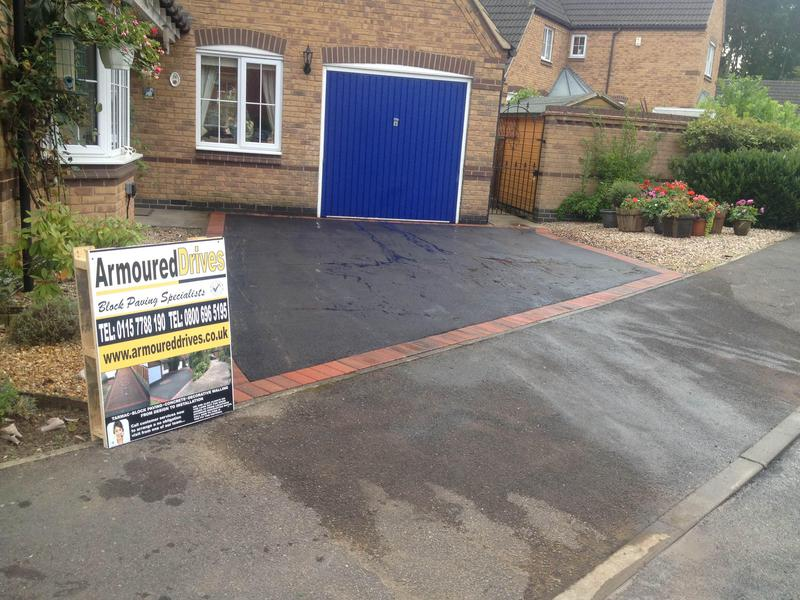 Image 50 - Tarmac driveway in Loughborough by armoured drives