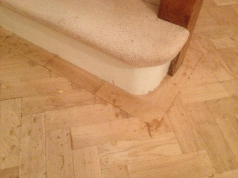Image 120 - Herringbone wood floor
