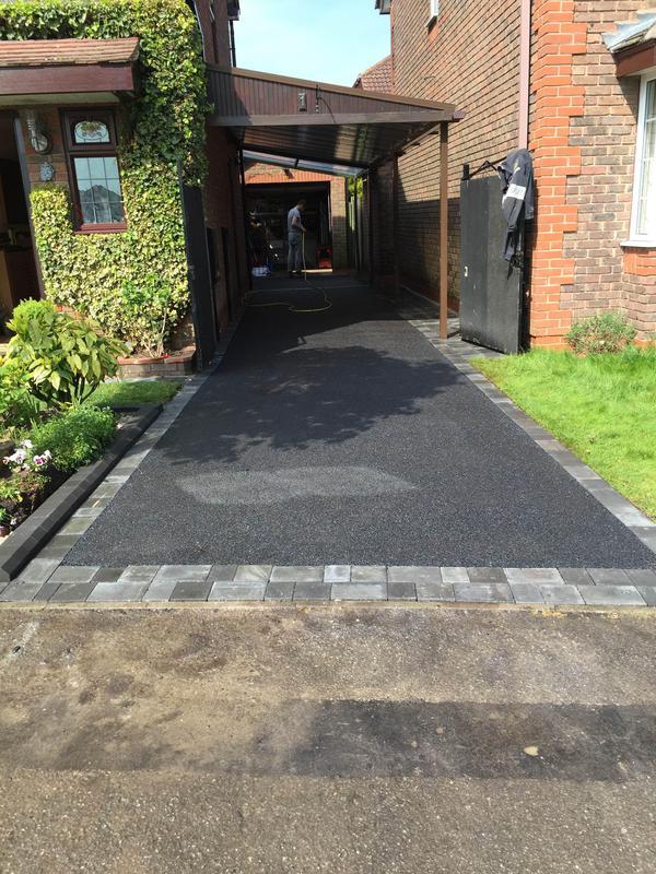 Image 40 - Tarmac driveway in Long Eaton