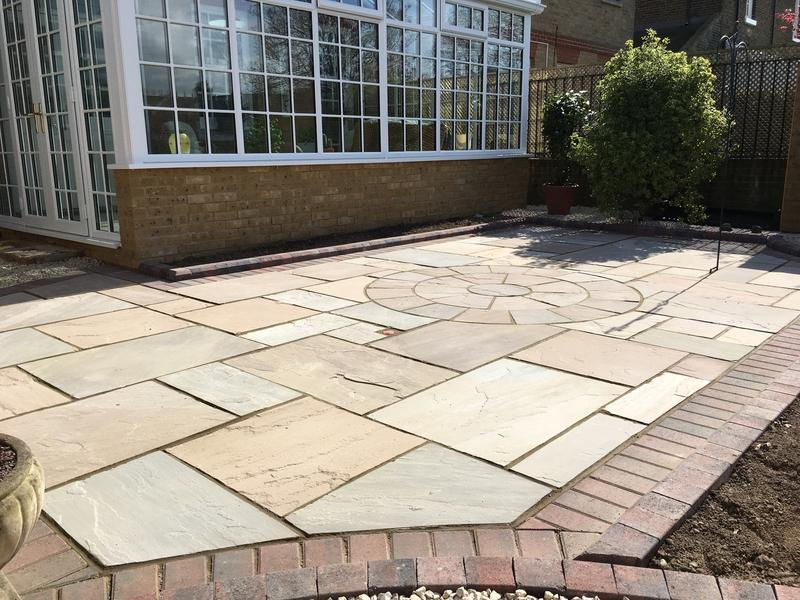 Image 155 - Patio paving thanet