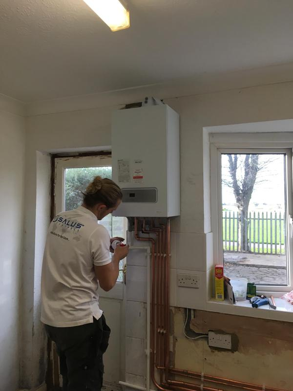 Image 20 - New boiler fitted in Dagenham. Glow-worm
