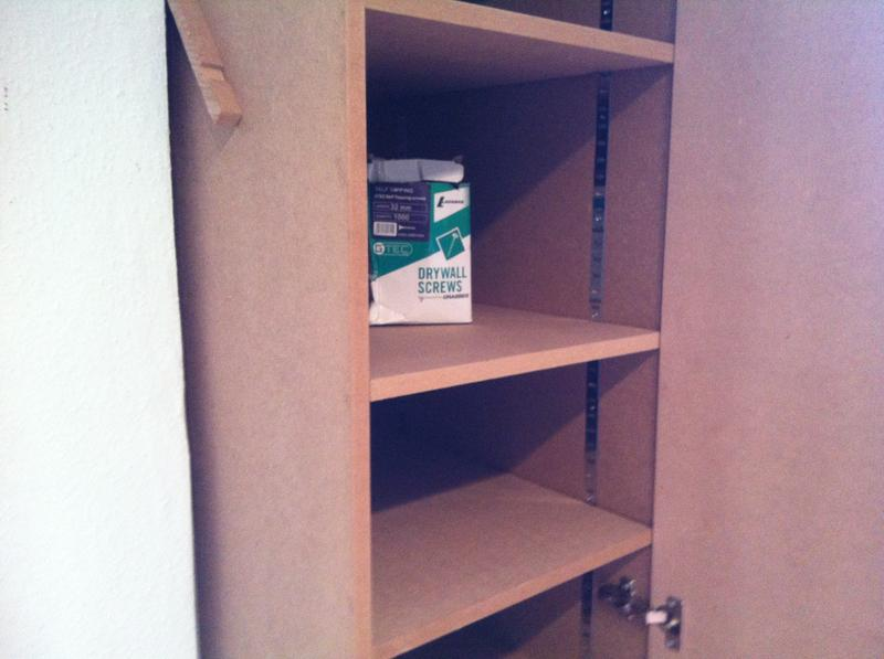 Image 17 - shelving units in wardrobes using bookcase strips