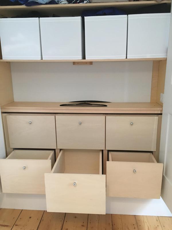 Image 27 - custom made wardrobe drawer unit