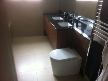 Image 3 - Stylish bathroom project