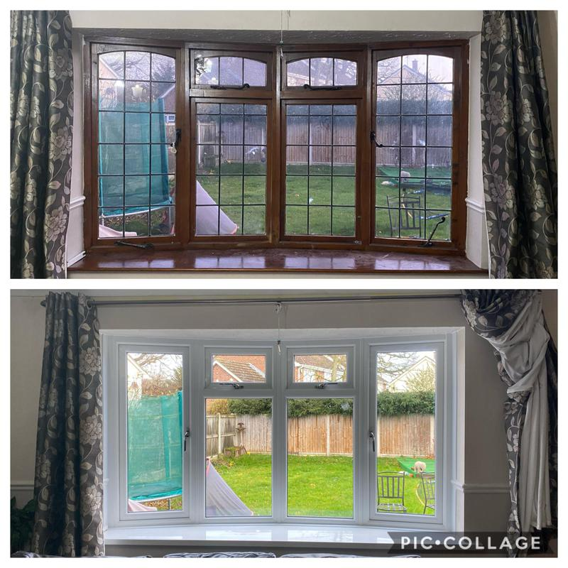 Image 17 - Beautiful White Bay Window Bringing So Much More Light Into The House